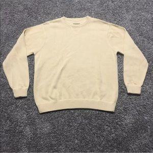 Eddie Bauer Crew Neck Cotton Sweater Faded Mens XL